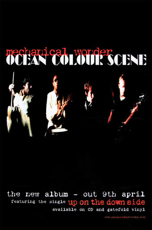 Ocean Colour Scene poster - Mechanical Wonder