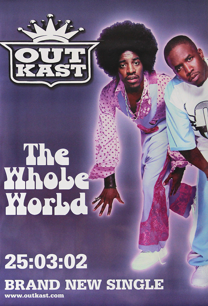 Outkast poster - The whole World. Original