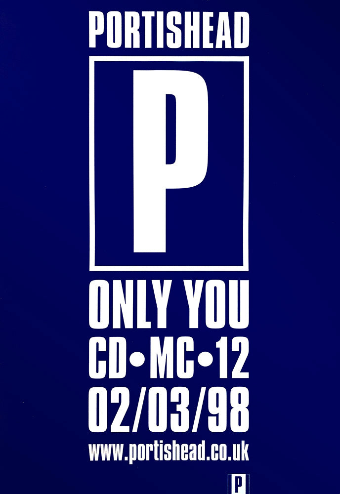 Portishead poster – Only You