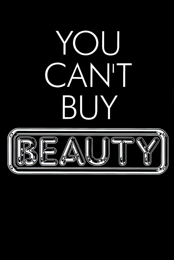 Pulp poster - You can't buy beauty