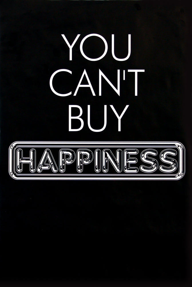 Pulp poster - You can't buy happiness