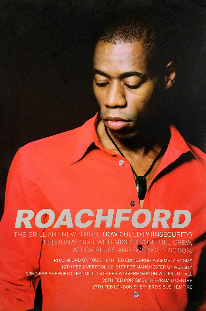 Roachford poster – How Could I (Insecurity)