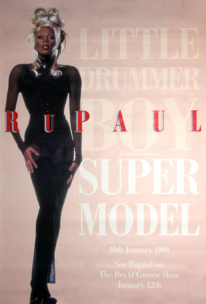 RuPaul poster - Super Model