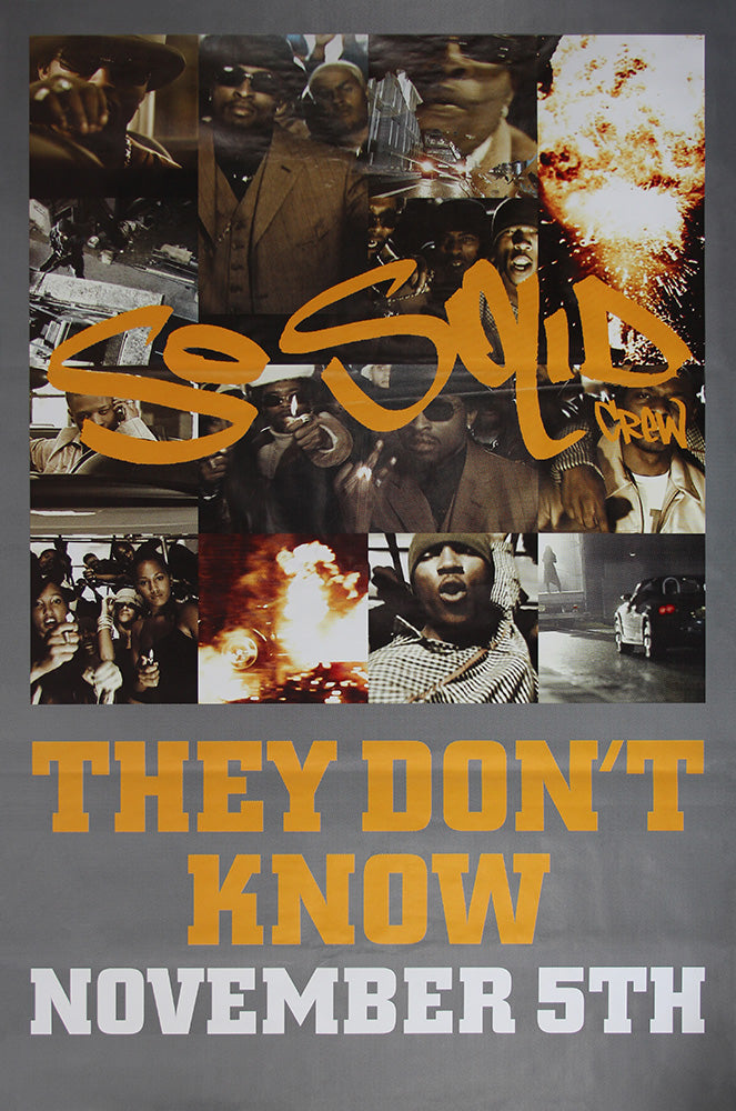 So Solid Crew poster – They Dont Know