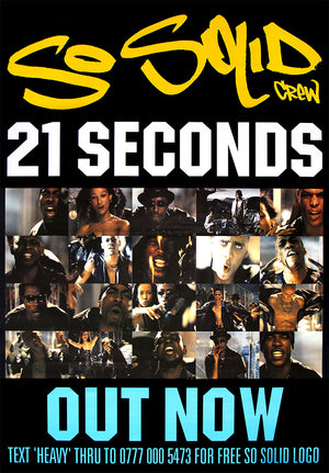 So Solid Crew poster - 21 Seconds