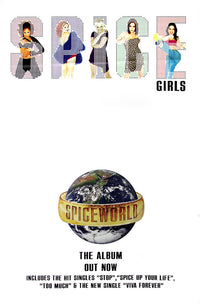 "Spice Girls poster - ""Spiceworld"" - Original Large 60""x40"""