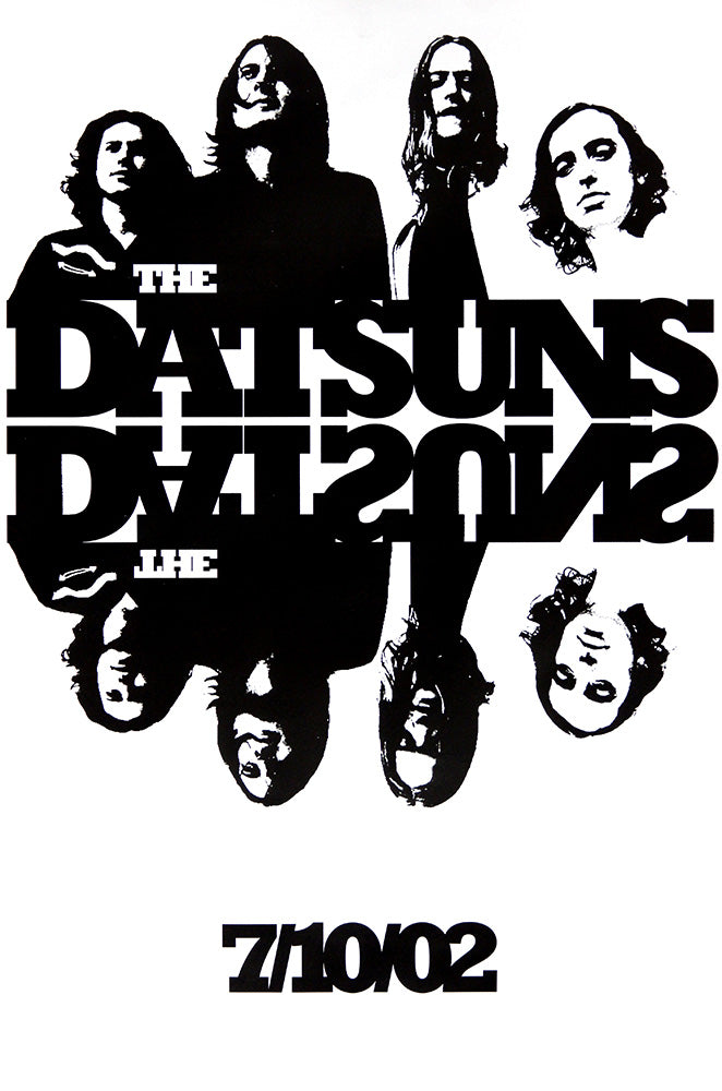 The Datsuns poster - The Datsuns
