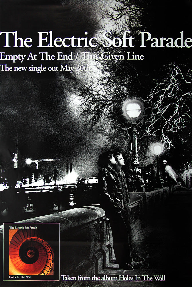 The Electric Soft Parade poster - Empty at the End