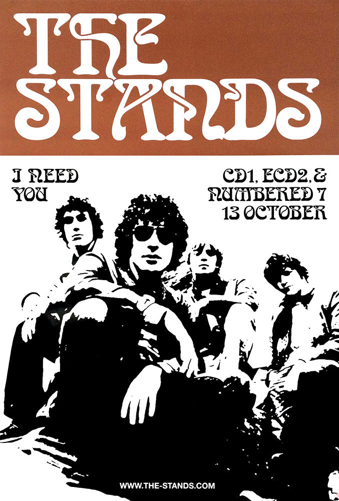 The Stands poster – I Need You