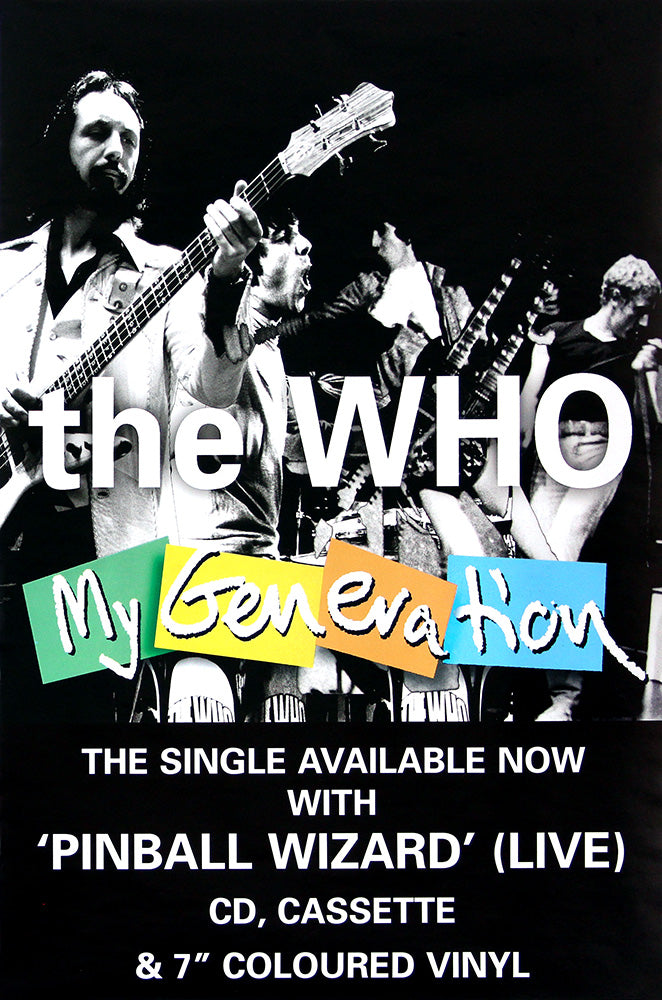 The Who poster - My Generation