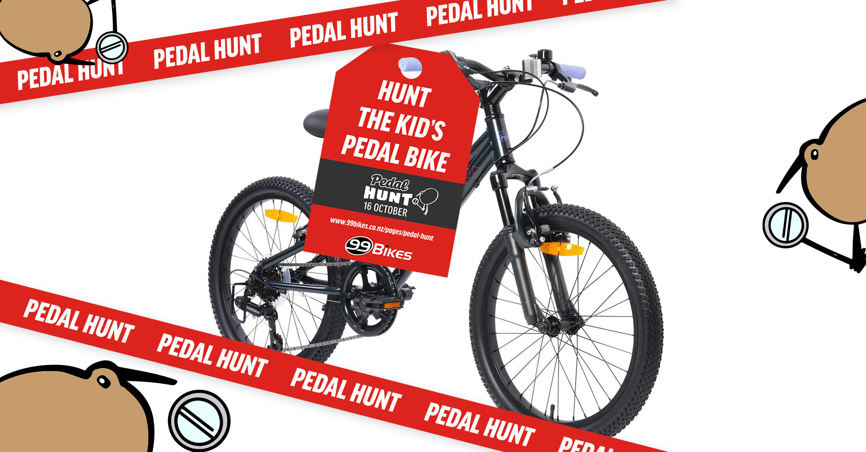 Hunt for this pedal bike and win