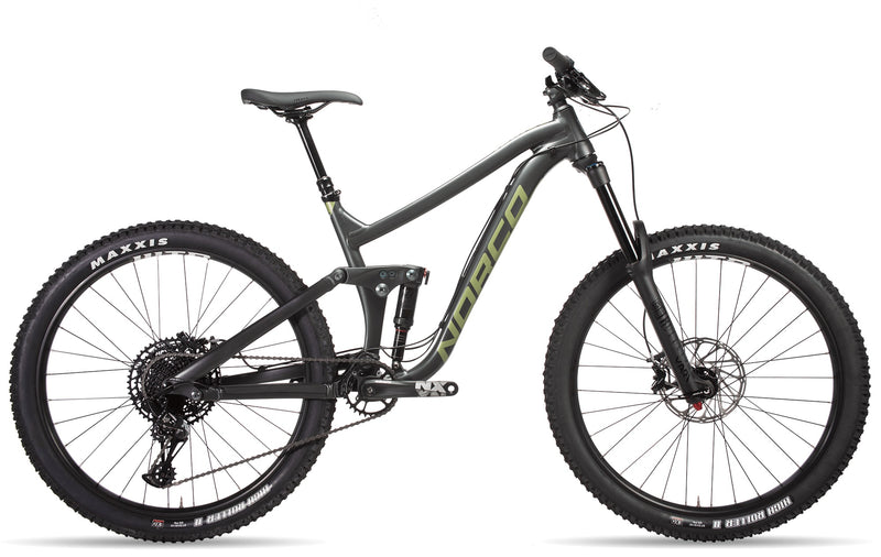 Norco Range A2 All-Mountain Bike Charcoal/Green (2019)