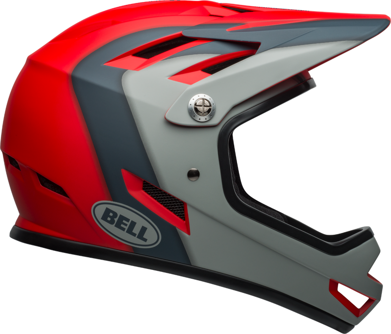 Bell Sanction Helmet Crimson & Slate