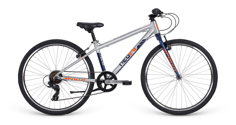 2019 Apollo Neo 26 7S Brushed Alloy With Navy And Orange K26