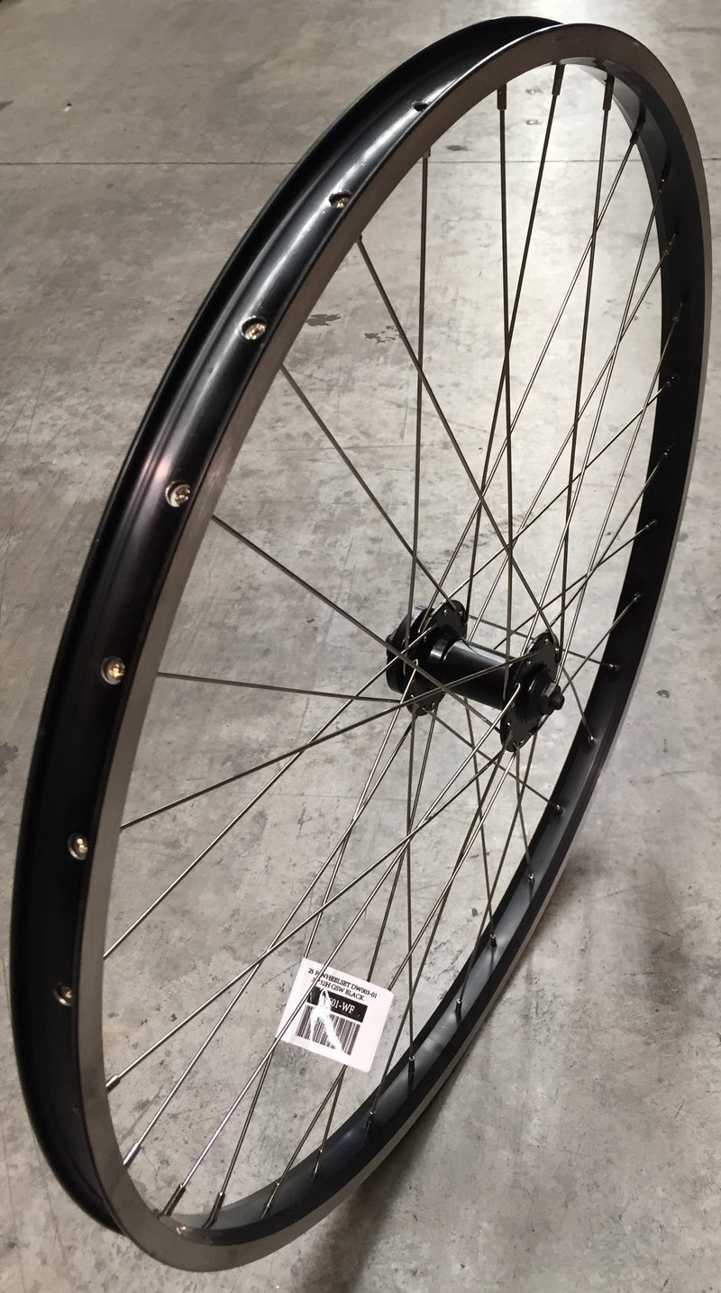 Bi Wheel 29 FR Disc6/V-Brk Qr 25mm Black
