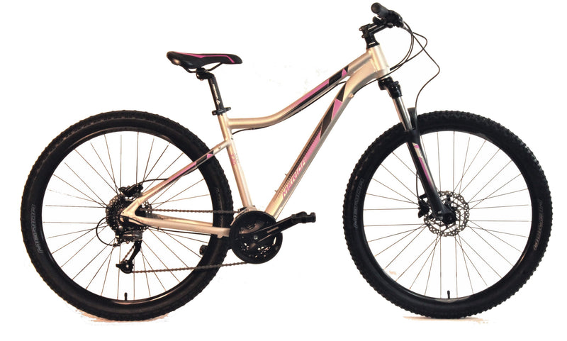 Merida Juliet 40D Women's Hardtail Mountain Bike Titanium/Pink (2019)