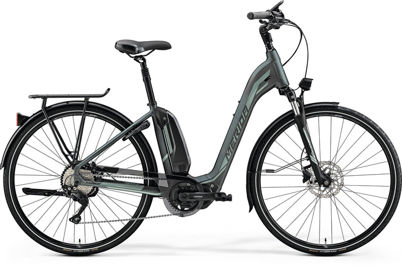 Merida Espresso City 600 EQ Electric Hybrid Bike Green (2019)