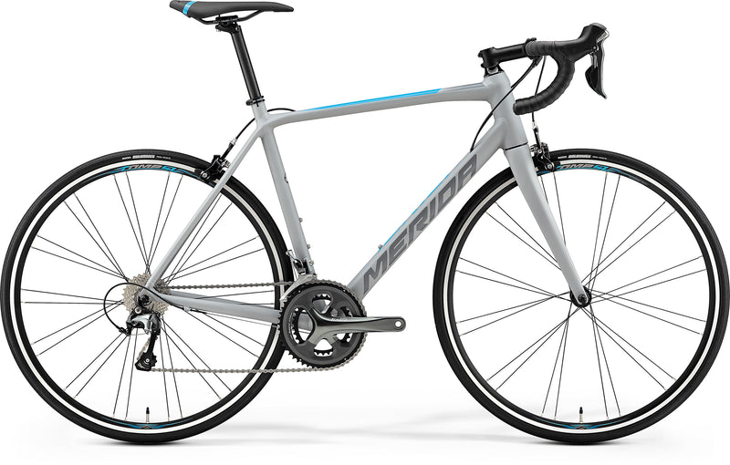 Merida Scultura 300 Road Bike Matt Grey/Blue (2019)