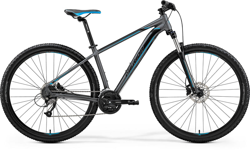 Merida Big Nine 40D Hardtail Mountain Bike Grey/Blue (2019)