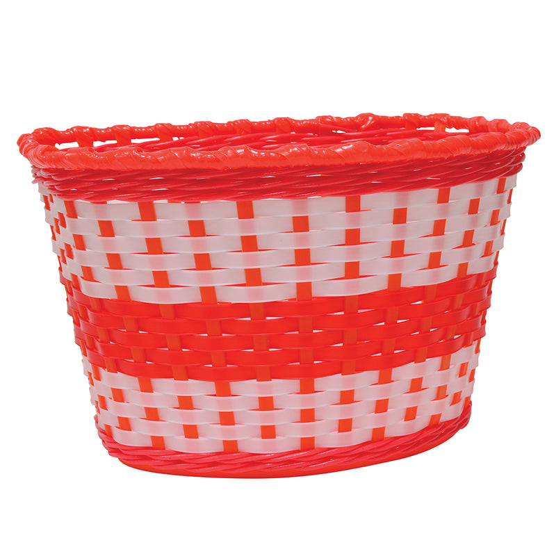 Oxford Basket Plastic MD Red