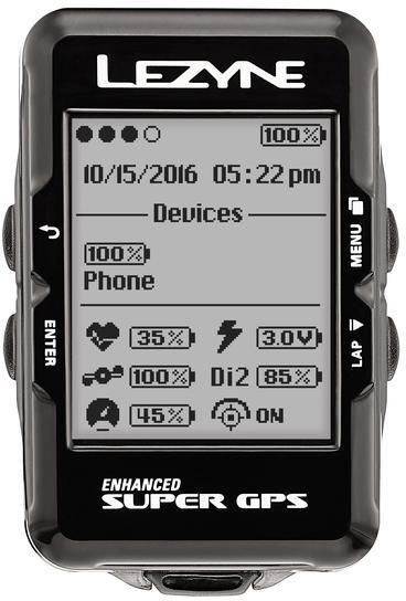 Lezyne Gps Super Hr Loaded
