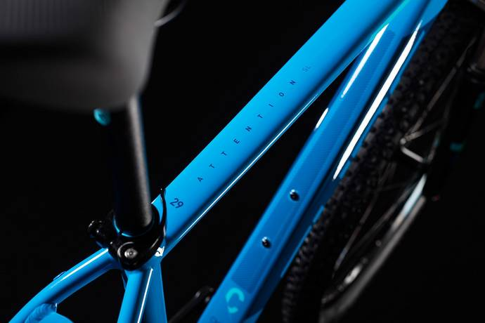 "Cube Attention SL 29 Hardtail Mountain Bike Aqua n Blue MD/17"" (2018)"