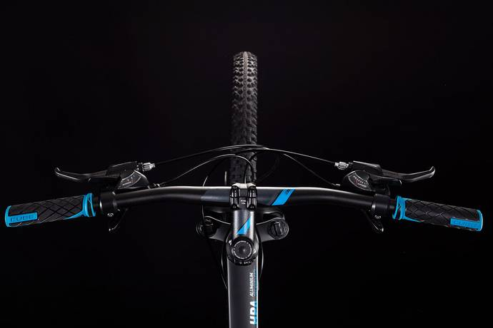 "Cube Aim 29 Hardtail Mountain Bike Black'n'Blue LG/19"" (2019)"