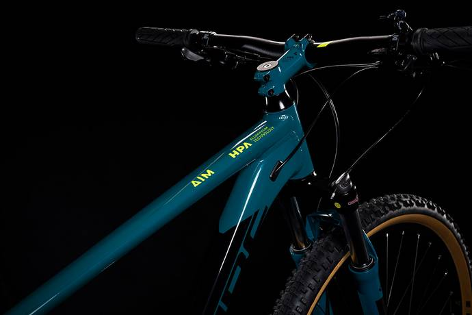 "Cube Aim SL 29 Hardtail Mountain Bike Pinetree'n'Flash Yellow MD/17"" (2019)"