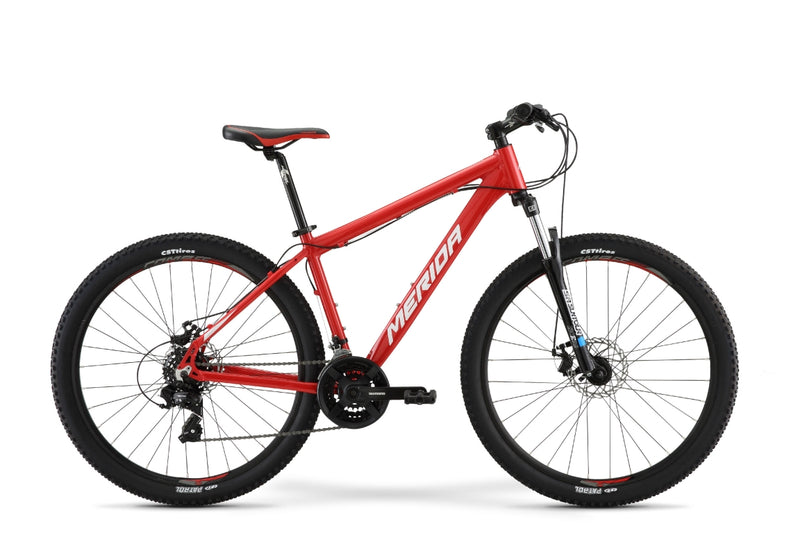 Merida Big Seven 10MD Hardtail Mountain Bike Race Red/White (2021)