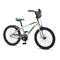 "Mongoose Racer X 20"" Kids Bike Silver"