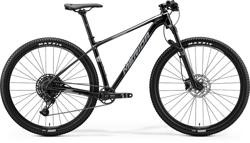 Merida Big Nine Limited Al Cross Country Bike Metallic Black/Silver (2020)