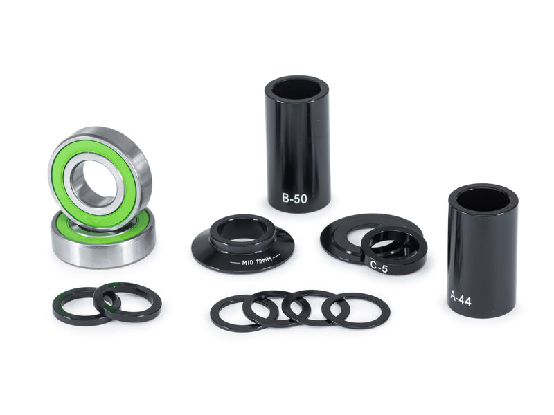 Eclat BB Unit Mid Size Sey 19Mm Black
