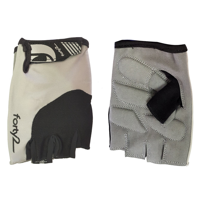 FORTY2 Gloves Grey Gelfoam XS