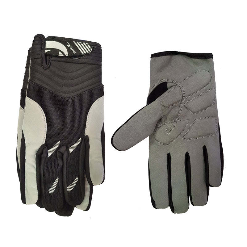 FORTY2 Gloves FF Black/ Grey Gelfoam 2XS