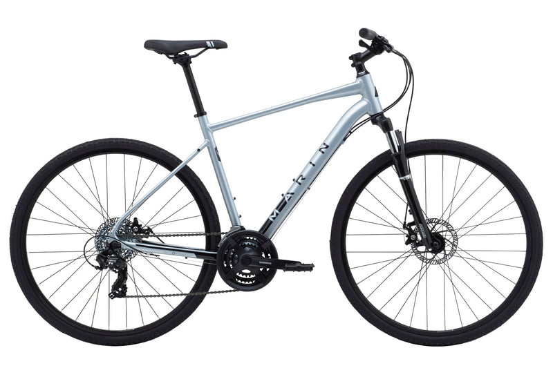 Marin San Rafael DS1 Hybrid Bike Satin Charcoal/Dark Silver (2020)