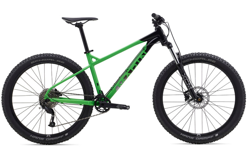 Marin San Quentin 1 Hardtail Mountain Bike Gloss Green/Black/Charcoal Decals (2020)