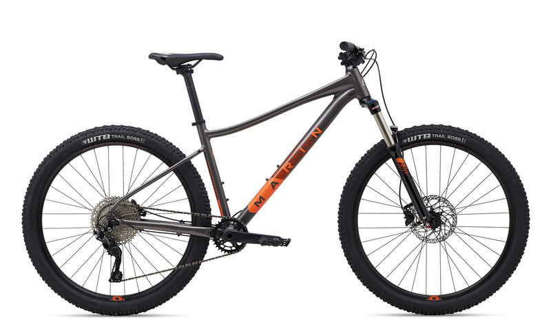 2020 Marin Wildcat Trail 5 WFG Gloss Charcoal With Coral Decals