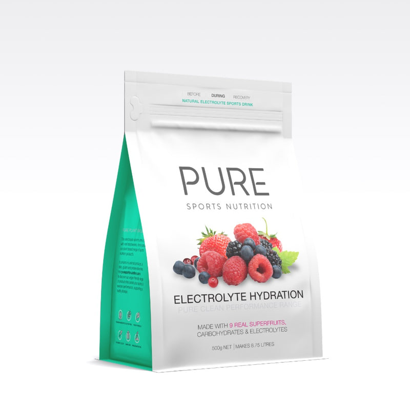 PURE Electrolyte Hydration Pouch SuperFruits 500g