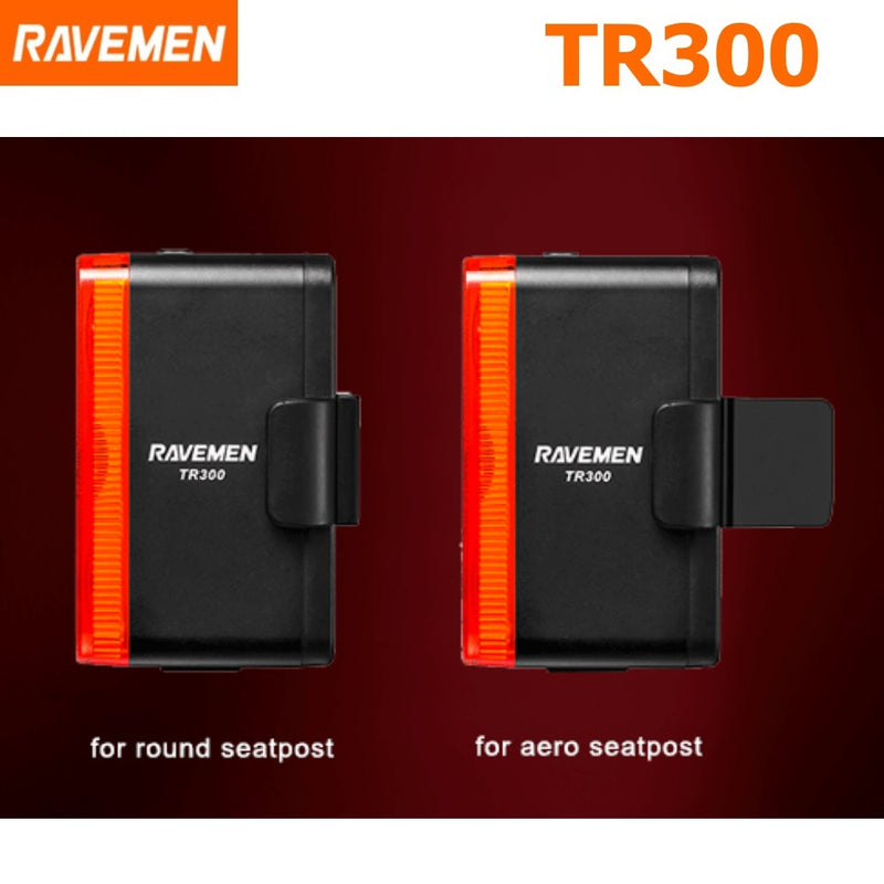 Ravemen TR300 USB Rear Light 300 Lumens