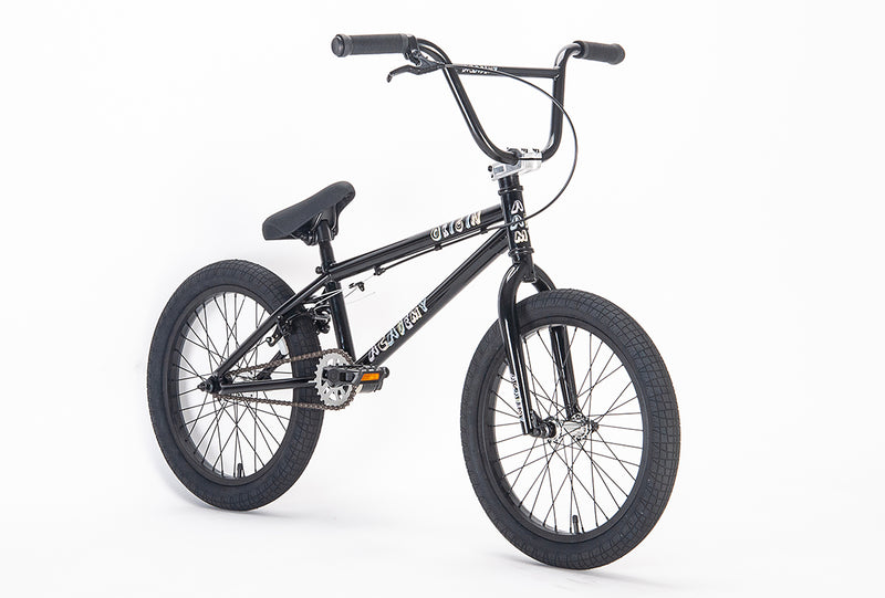"Academy Origin 18"" Kids BMX Black (2021)"