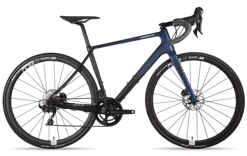 Norco Section Carbon Ultegra Adventure Road Bike Blue Fade (2019)