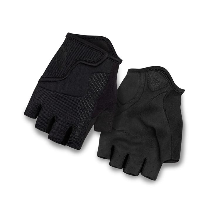Giro Gloves Bravo Jr Kids SF Mono Black SM