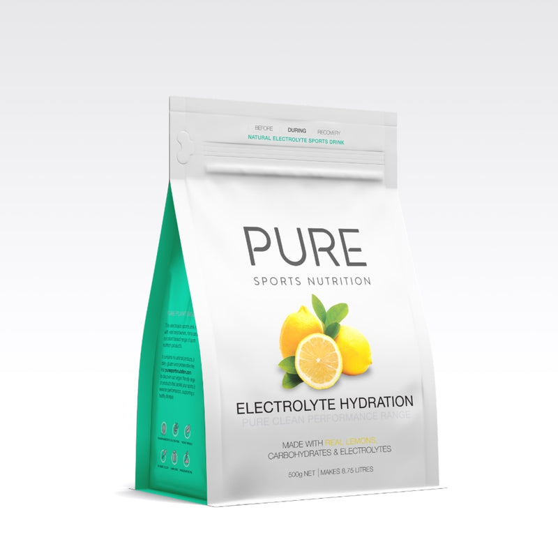 PURE Electrolyte Hydration Pouch Lemon 500g