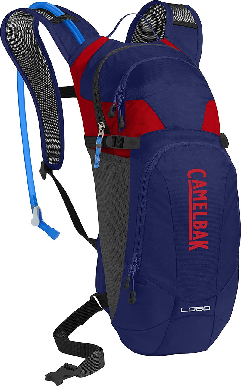CamelBak Lobo 3L Hydration Pack Pitch Blue/Racing Red