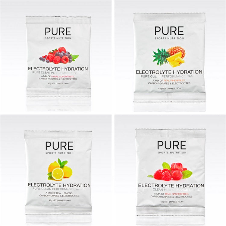 PURE Electrolyte Hydration Sachet 42g Lemon