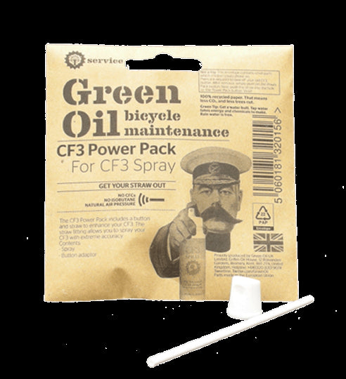 Green Oil Straw For Lube-CF3 Pump-Spray