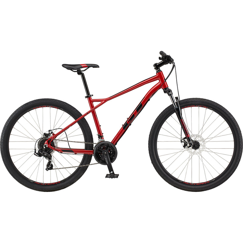 GT Aggressor Sport Hardtail Mountain Bike Mystic Red/Black (2021)