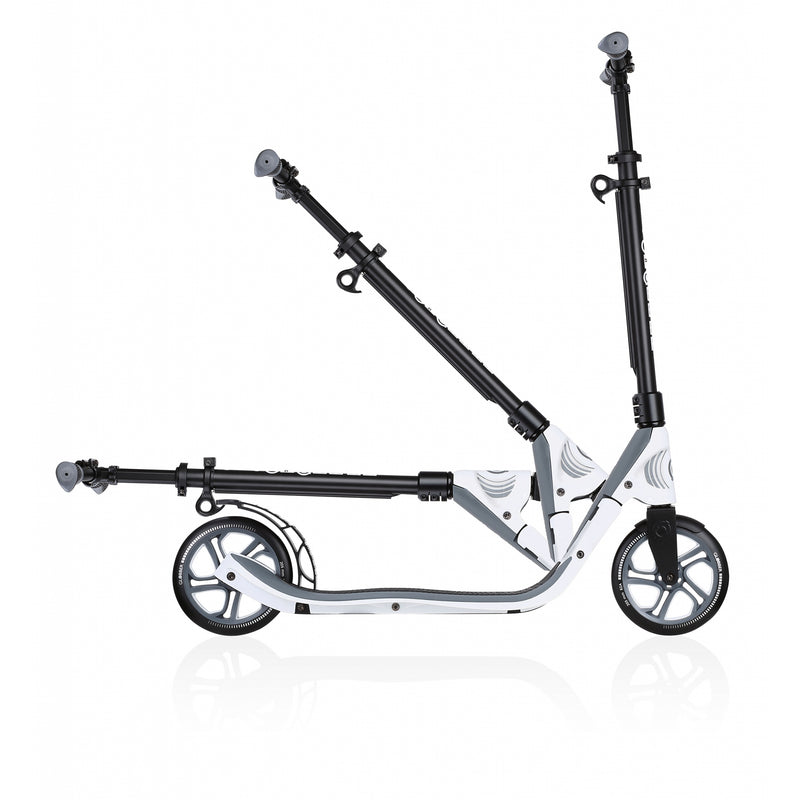 Globber One NL 205 Folding Adult Scooter White