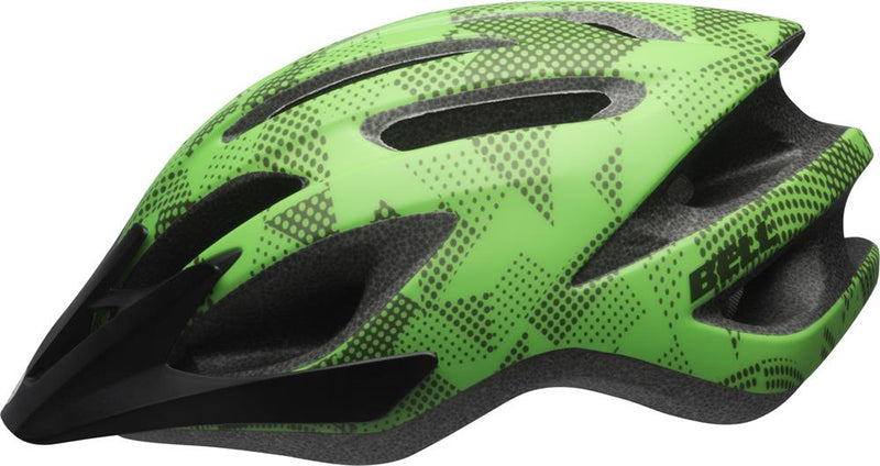 Bell Crest JR Helmet Black & Lime UNI Youth 50-57cm