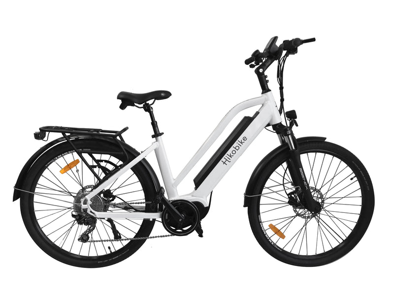 2019 Hiko Speedster E-Bike White MD